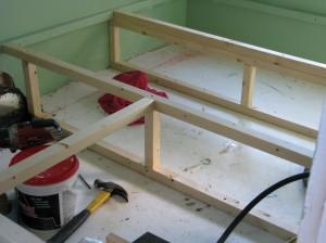 Finished bed frames